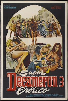 Forbidden Decameron (Il Decamerone proibito - le altre novelle del Boccaccio) (1972, Italy) movie poster