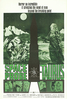 Space Probe Taurus (aka Space Monster, aka First Woman Into Space) (1965, USA) movie poster