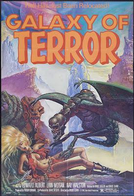Galaxy of Terror (1981, USA) movie poster