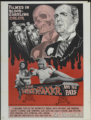 The Undertaker and His Pals (1966, USA) movie poster