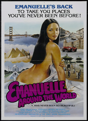 Emanuelle Around the World (Emanuelle - Perché violenza alle donne? / Emanuelle Versus Violence to Women) (1977, Italy) movie poster