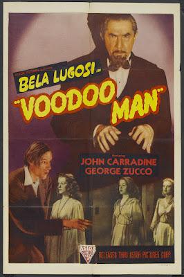 Voodoo Man (1944, USA) movie poster