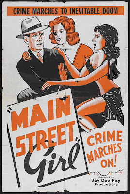 Main Street Girl (aka Paroled from the Big House) (1938, USA) movie poster