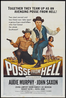 Posse from Hell (1961, USA) movie poster