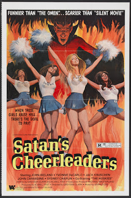 Satan's Cheerleaders (1977, USA) movie poster