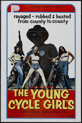 The Young Cycle Girls (aka Cycle Vixens) (1978, USA) movie poster