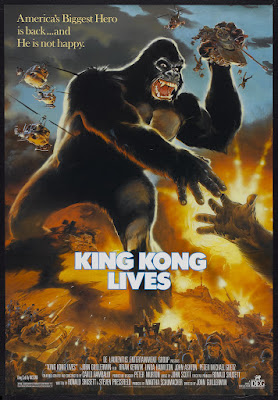 King Kong Lives (1986, USA) movie poster