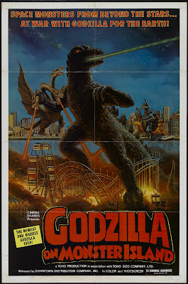 Godzilla vs. Gigan (Chikyû kogeki meirei: Gojira tai Gaigan, aka Godzilla on Monster Island) (1972, Japan) movie poster