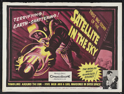 Satellite in the Sky (1956, UK) movie poster