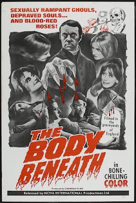 The Body Beneath (1970, UK) movie poster