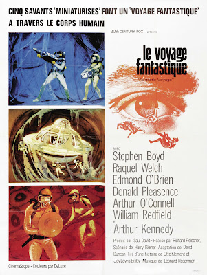 Fantastic Voyage (1966, USA) movie poster