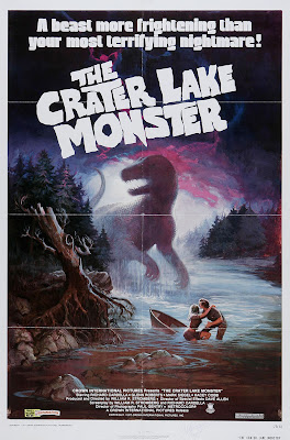The Crater Lake Monster (1977, USA) movie poster