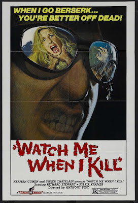 Watch Me When I Kill (Il gatto dagli occhi di giada / The Cat with the Jade Eyes) (1977, Italy) movie poster