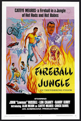 Fireball Jungle (1969, USA) movie poster