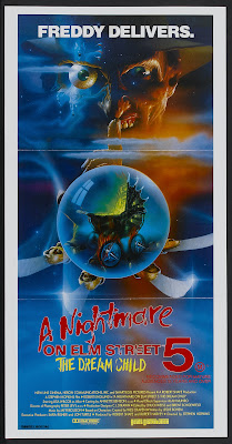 A Nightmare on Elm Street 5: The Dream Child (1989, USA) movie poster