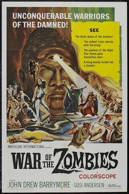 War of the Zombies (Roma contro Roma) (1964, Italy) movie poster