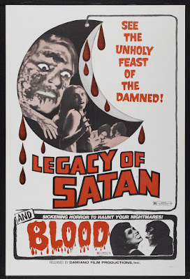 Legacy of Satan (1974, USA) movie poster