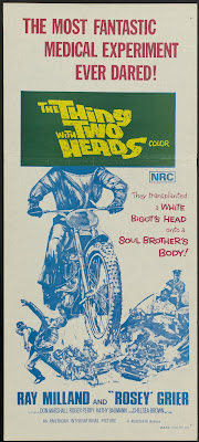 The Thing with Two Heads (1972, USA) movie poster