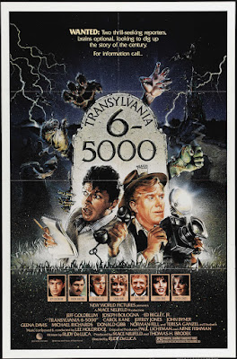 Transylvania 6-5000 (1985, USA / Yugoslavia) movie poster