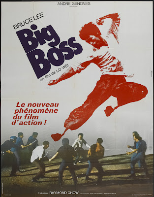 The Big Boss (Tang shan da xiong, aka Fists of Fury) (1971, Hong Kong) movie poster