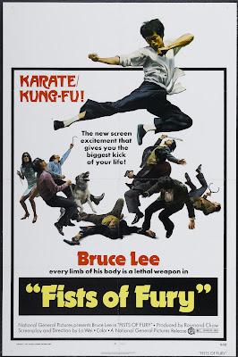 The Big Boss (Tang shan da xiong, aka Fists of Fury) (1971, Hong Kong) movie poster