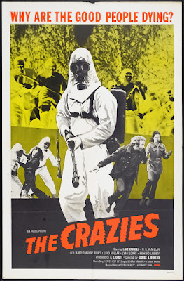 The Crazies (1973, USA) movie poster