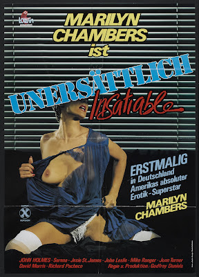 Insatiable (1980, USA) movie poster