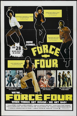 Force Four (aka Black Force) (1975, USA) movie poster