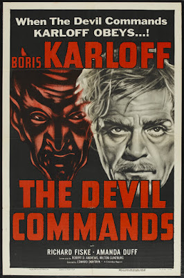 The Devil Commands (1941, USA) movie poster