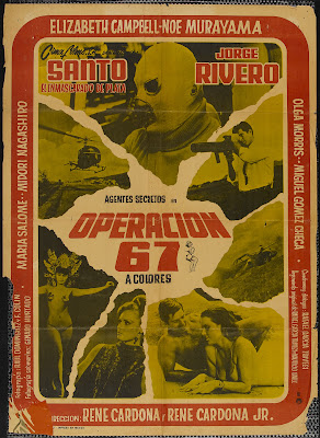 Operation 67 (Operación 67) (1967, Mexico) movie poster