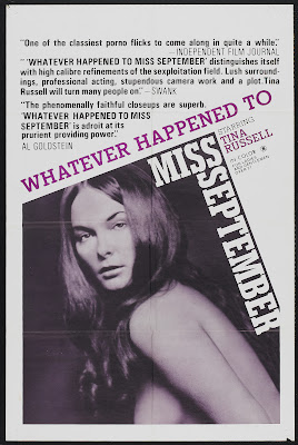 Whatever Happened to Miss September? (1973, USA) movie poster
