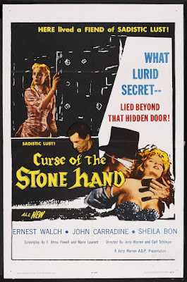 Curse of the Stone Hand (1964, USA) movie poster