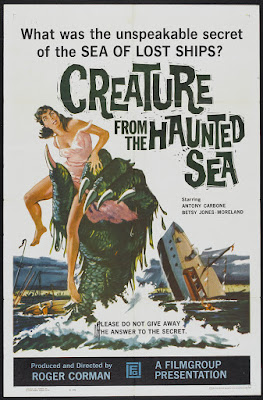 Creature from the Haunted Sea (1961, USA) movie poster