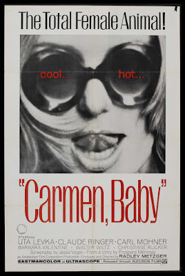 Carmen, Baby (1967, USA / Germany) movie poster