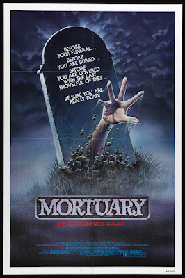 Mortuary (1983, USA) movie poster