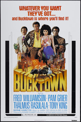 Bucktown (1975, USA) movie poster