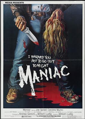 Maniac (1980, USA) movie poster