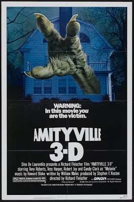 Amityville 3-D (1983, USA) movie poster