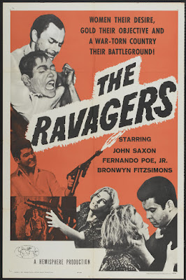 The Ravagers (1965, USA / Philippines) movie poster