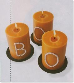 Pushpin Autumn Candles
