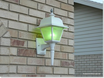 Green Outdoor Lights