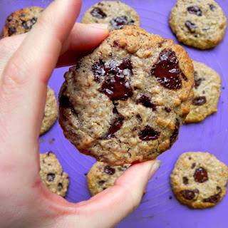 Flour Free Almond Butter Chocolate Chunk Cookies