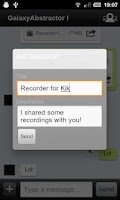 Screenshot of Recorder for Kik