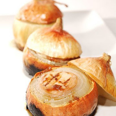 Grilled Scallop-Stuffed Sweet Onions