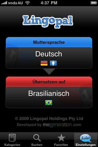 無料旅游AppのLingopalポルトガル語(ブラジル)|記事Game