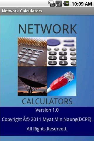 Network Calculators