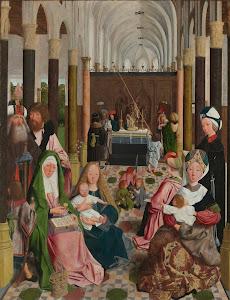 RIJKS: workshop of Geertgen tot Sint Jans: The Holy Kinship 1495