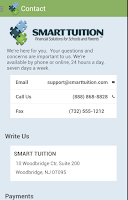 Screenshot of Smart Tuition for Parents
