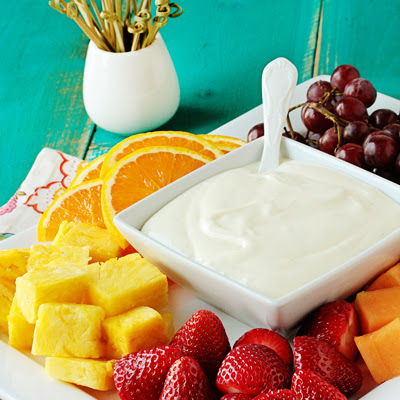 Dreamsicle Fruit Dip
