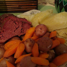 Crock Pot Corned Beef Dinner